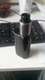Dripper vapouriser / vape / e cig with all equipment needed