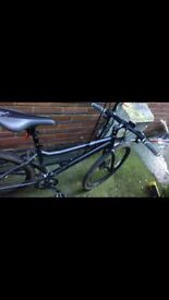 Carrera pushbike double disk brake full shimano gears BRAND NEW BIKE new tyres for 200£