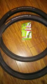 Mountain bike tyres CONTINENTAL DOUBLE FIGHTER 1.9
