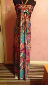 Multi maxi dress Size large