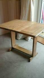 Mini drop leaf table