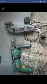 Drill and sander