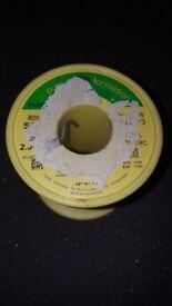 RESIN COATED SOLDER 2MM DIAMETER 500G / 0.5 / 1/2 KG ROLL *PRICE REDUCED*