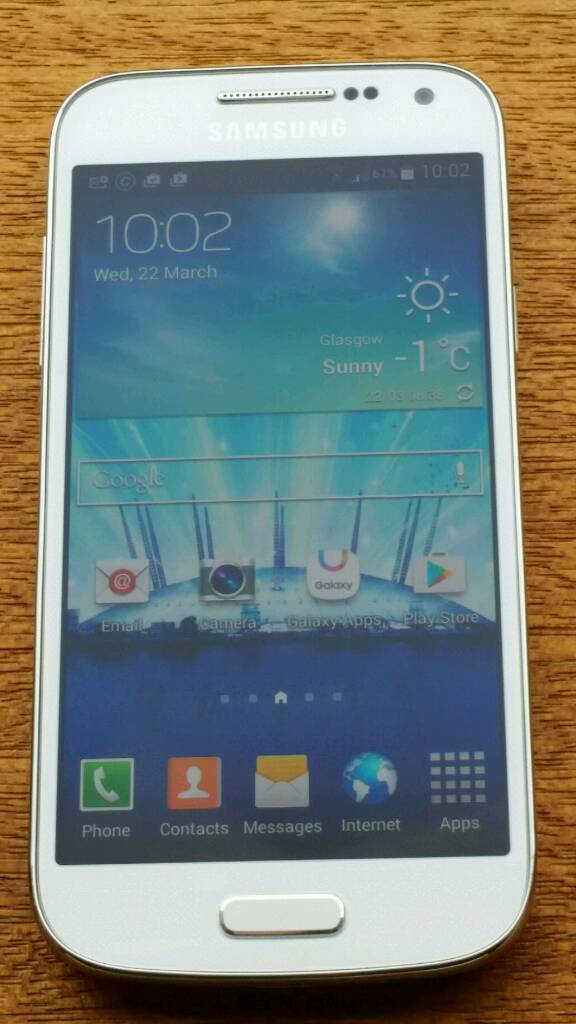 Samsung S4 Mini GT i9195 immaculate condition unlockedin Bearsden, GlasgowGumtree - Samsung S4 Mini GT i9195 immaculate condition unlockedComes as if brand new not a mark on it. It was always used in the case as seen in photosUnlocked tested on EE & O2 (Tesco /giffgaff)Fully updatedHas all the usual WiFi Bluetooth Excellent camera...