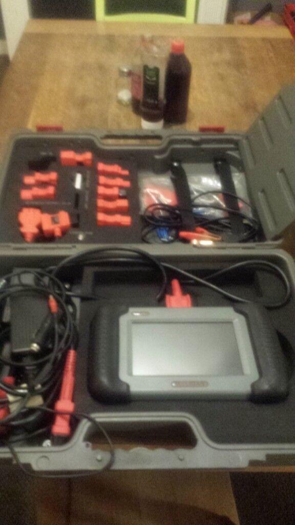 Mobile car/van full diagnostics DPF regeneration live data