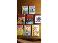 7 Geronimo Stilton books + 1 Monster High in Spanish.