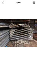 Used scaffold tube