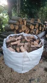 OPEN FIRE, Bulk Bag Of Logs £65