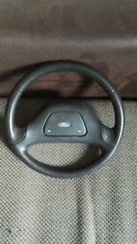 Ford escort rs turbo s2 steering wheel