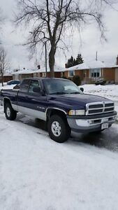 REDUCED  $4500 1999 Dodge Ram Quad Cab 1500