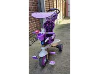 Purple 4 in 1 smartrike, Excellent condition.