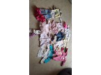 0 to 3 months girls bundle
