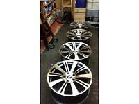 bmw alloy wheels 19' 10 spoke wheels