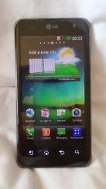 LG Optimus 2x P990 - 8GB - Black (Unlocked) Smartphone- Great condition