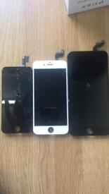 iPhone LCD Screens Replaced From Shop