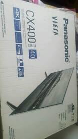 "40"" panasonic viera cx400 4k tv"