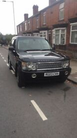 2003 Range Rover vogue 3.0 diesel with Tv and DVD