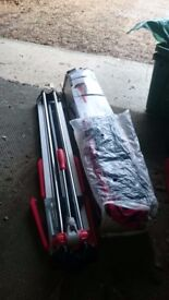 Ruby fast 85 tile cutter (unused, boxed)