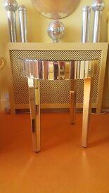 Mirror table £100