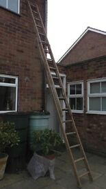 Wooden Extension Ladders