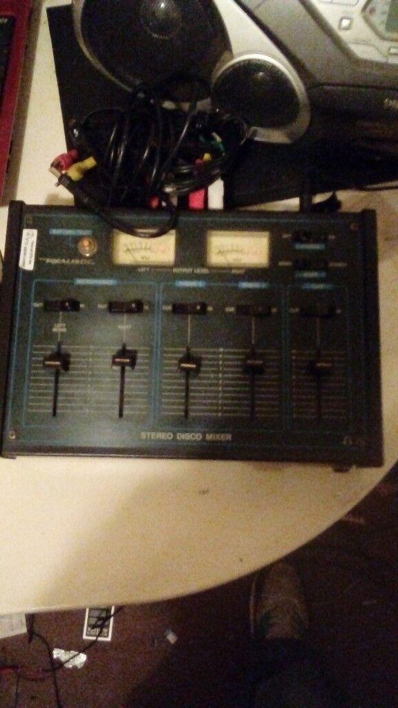 mixer dj equipment