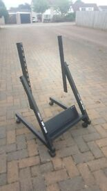 QUIKLOK RS658 mobile rack stand