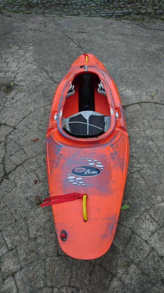 Inazone whitewater kayak