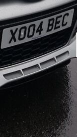 Private plate XO04BEC