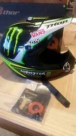 Thor mx quad helmet motocross