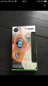 Belkin storage + armband. Bnib