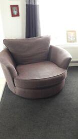 revolving snuggle chair
