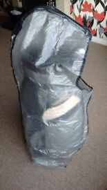 Golf bag (HIPPO cart bag with watreproof cover)