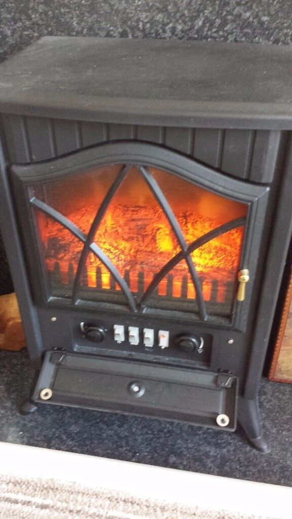 log effect electric fire good condition only £20.00