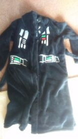 Star Wars Dressing Gown 10-11 years