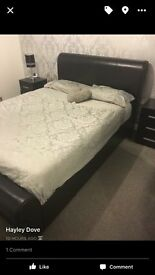 Double bed &mattrress