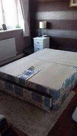Double bed base divan