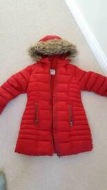 Next girls winter jacket 5yrs
