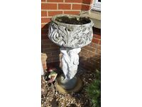 Garden concrete pot