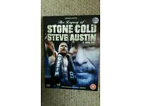 WWE dvd: The legacy of Stone Cold Steve Austin.