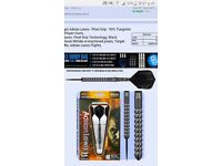Adrian Lewis Black Pixed Darts 90% Tungsten 23g