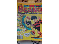 Beanos (200+), beano books, summer specials, anniversary posters + more