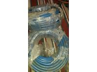 brand new air hose full rolls 50 m long ready to use