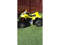 Childrens Quad Bike, 12v battery,3.5-5mph,age 3-8 years old