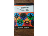 3x Books - Approaches to Psychology, Research Methods & Statistics, Psychology A Students Handbook