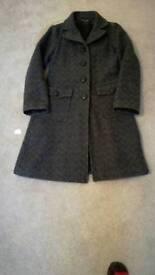 Comtoir des Cotonniers Tweed coat size 8