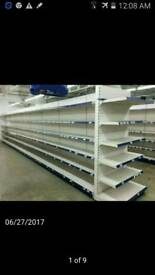 Shop shelving in Mint condition & Dairy Fridges