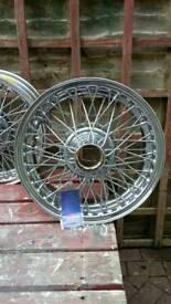 Crome wire wheels