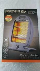 800w brand new Daewoo Quartz Heater
