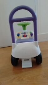 Child Buzz Lightyear Toy Light and Sound Ride On
