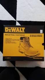 Dewalt laser safety boots UK size 10